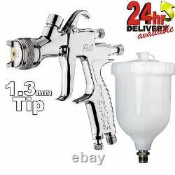 DeVilbiss FLG-5 1.3mm Paint Spray Gravity Spray Gun Compliant Gravity Spraygun