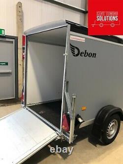 Debon C255 Tow Box Van Trailer NEW 2021 MODEL 1300KG MGW EU APPROVED INC VAT