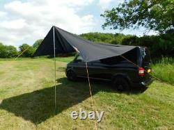 Debus VW Campervan Sun Canopy Awning for T4 T5 T6 Midnight Black