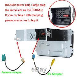 Deutsch Autoradio RCD330 CarPlay BT RVC USB Für VW Golf 5 6 Passat Polo Tiguan