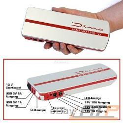 Dino Kraftpaket Power Pack Mobile Starthilfe Powerstation Ladegerät Jumpstarter