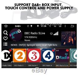 Doppel DIN Android 8.1 Autoradio GPS BT WiFi OBD2 DVR DAB+ USB SD Navi 4G DVB-T2