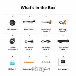 Double DIN Android 10 Car Stereo 10.1 Head Unit GPS Sat Nav DAB+ Apple CarPlay