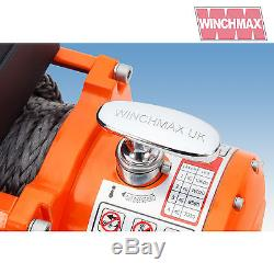 ELECTRIC WINCH 13500lb 12V SYNTHETIC ROPE WINCHMAX 4x4/RECOVERY Wireless Dyneema