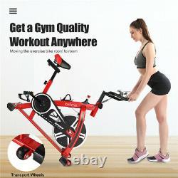 Exercise Bike Home Gym Bicycle Cardio Fitness Training Indoor-10kg Flywheel New