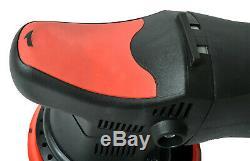 Exzenter Poliermaschine 810 W Polierer rotierend und exzentrisch Zubehör Set M