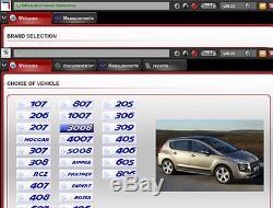 FULL CHIP-REV. C LEXIA 3 Diagnostic Interface for Citroen Peugeot, DIAGBOX 7.83