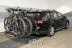 Fahrradheckträger für AHK vier 4 Fahrräder eBike AMOS Tytan-4 PLUS 7-polig 60kg
