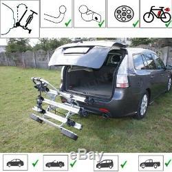Fahrradträger Anhängerkupplung 3 Fahrräder Heckträger abschließbar eBike AHIRO3