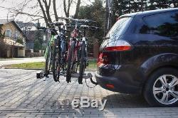 Fahrradträger Heckträger Fahrradheckträger Anhängerkupplung AHK für 4 Fahrräder
