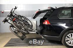 Fahrradträger für Anhängerkupplung drei Fahrräder eBike AMOS Tytan-3 PLUS 13-pol