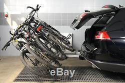Fahrradträger für Anhängerkupplung vier Fahrräder eBike AMOS Tytan-4 PLUS 7polig