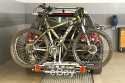 Fahrradträger für Anhängerkupplung zwei Fahrräder eBike AMOS Tytan-2 PLUS 7polig
