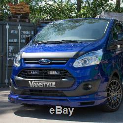 Ford Transit Custom & Tourneo 12-18 Lower Front Splitter Spoiler Lip Bumper Van