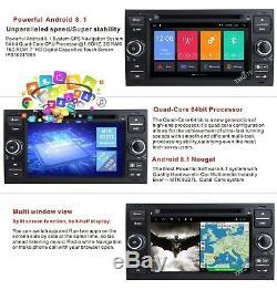 Ford Transit Mk7 Kuga Android 8.1 HeadUnit DAB Radio GPS Sat Nav WiFi Stereo DVD