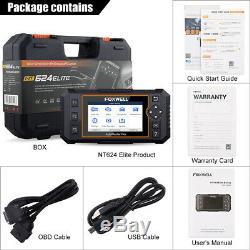 Foxwell All System Car AIRBAG ABS AT OBDII Code Reader Diagnostic Scanner Tool