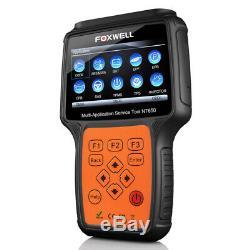 Foxwell Epb Tps Dpf Tpms Reset Car Diagnostic Tool Injector Coding Obd2 Scanner