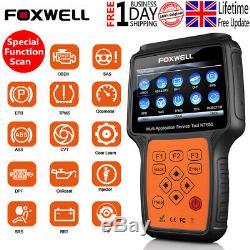Foxwell NT650 Multi-System Scanner EPB TPS DPF TPMS Reset OBD2 Diagnostic Tool
