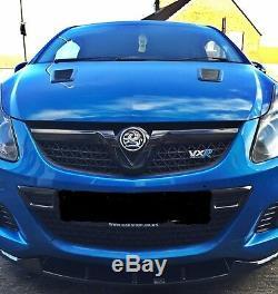 Front Splitter Nurburg Look (textured) Vauxhall/opel Corsa D Vxr (2004-2014)