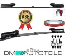 Frontspoiler Sport-Performance Schwarz Matt passend für BMW F10 F11 mit M-Paket