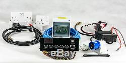 Full Campervan/Motorhome Electrical Conversion Kit Split-Charge Hook-up 12V 240V