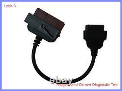 Full Chip Rev C Lexia 3 Diagnostic Interface Peugeot Citroen Diagbox Pp2000 9.91