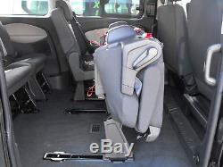 Genuine OEM Folding Triple Bench Seat incl Belts Fixings Ford Transit Custom