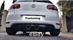 Golf 5 R32 Endrohre Sportauspuff Auspuff VW Golf 6 V VI GTI GTD TDI R20 R