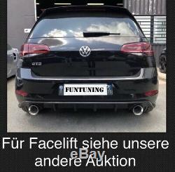 Golf 7 GTI Diffusor Heckansatz Gtd Heckdiffusor VW Heckschürze für alle Golf VII