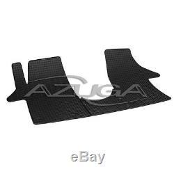 Gummimatten für VW T5/T6 (Multivan, Caravelle und Transporter) Gummi-Fußmatten