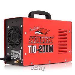 HAWK TOOLS 230v 200A 60Hz PRO GARAGE INVERTER TIG WELD WELDER WELDING MACHINE