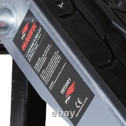 Hawk 1.5t 1.5 Ton 1500kg Mobile Garage Scissor Tilting Car Lift Ramp Hoist Jack