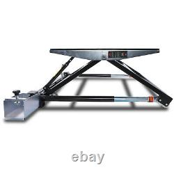 Hawk 1.5t 1.5 Ton 1500kg Portable Mini Scissor Car Van Lift Jack Ramp Stand