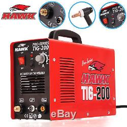 Hawk Tools Professional 200 Amp 230v Inverter Tig Weld Welding Welder Machine