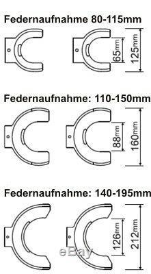 Hesselink FS-2000 Mc Pherson KFZ Auto universal Profi Federspanner Werkzeug Set