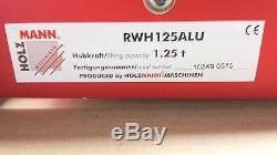 Holzmann Rangierwagenheber RWH 125 Alu Wagenheber Doppelkolbenpumpe