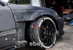 Honda Civic Type R EK EJ Fenders CUT OUT panels 96-00 Body kit Tuning JDM Style