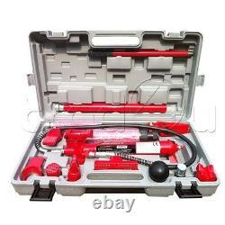 Hydraulic Power Car Van Jack Body Porta Frame Repair Kit Auto Car Tool 10 t ton