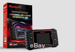 ICarsoft BMM V2.0 für BMW Mini OBD Diagnose Öl Service DPF EPB BMS Rückstellung