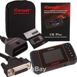 ICarsoft CR Plus OBD 2 Diagnose-Gerät CAN-BUS Fehler Meldung löschen Universal