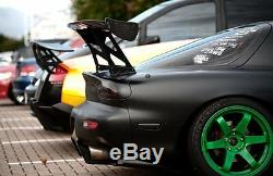 JAPSPEED UNIVERSAL CARBON FIBRE ADJUSTABLE ANGLE 1.7m REAR BGW BOOT SPOILER WING