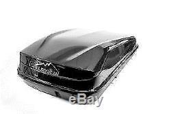 Junior Car Top Roof Box 420L Big Easy Gloss Black