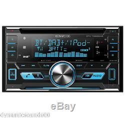 KENWOOD DPX-7000DAB 2-DIN CAR/VAN CD iPod DAB+ Bluetooth Stereo + Aerial