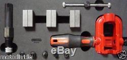 KS Tools Profibördelgerät Hydraulik / Bremsleitungen bördeln / Bördelgerät