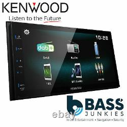 Kenwood DMX-125DAB 6.8 Bluetooth DAB+ Touch Car Android Stereo & DAB Aerial