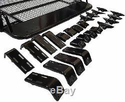 LARGE Steel Roof Rack Basket Tray fits Freelander Landrover Shogun Discovery Van
