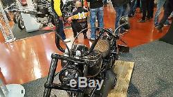 LED SCHEINWERFER 5,75 mit Standlicht Harley Night Train Sportster DYNA Softail