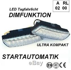 LED Tagfahrleuchten R87 Modul E-Prüfzeichen E9 16SMD Tagfahrlicht TFL