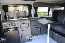 LWB VW T5 Campervan Conversion with 130cm 3 Seater RIB Altair, Slimline Design