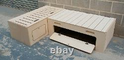 L-shape Seat Campervan Bed Pull Out Bench 6'x4' Birch Ply BED029/030 Camper Van